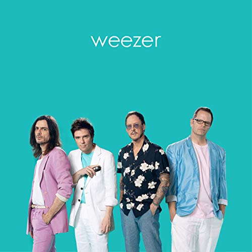 WEEZER (THE TEAL ALBUM) IS HERE!
